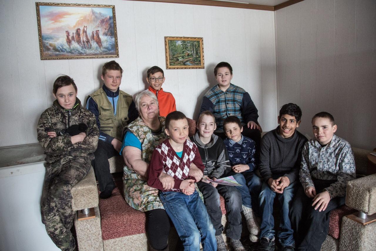 Тюменские писатели побывали в приёмной семье