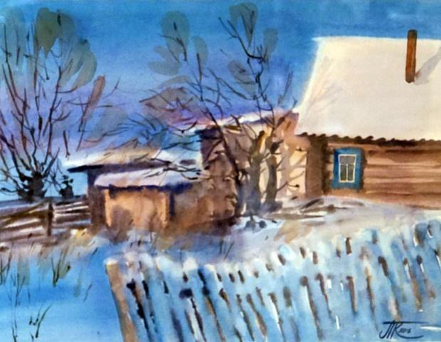 Татьяна Кулешова - выставка акварели