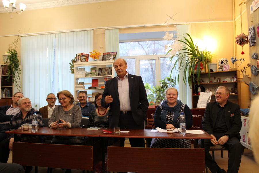 встреча с писателями в Коркино