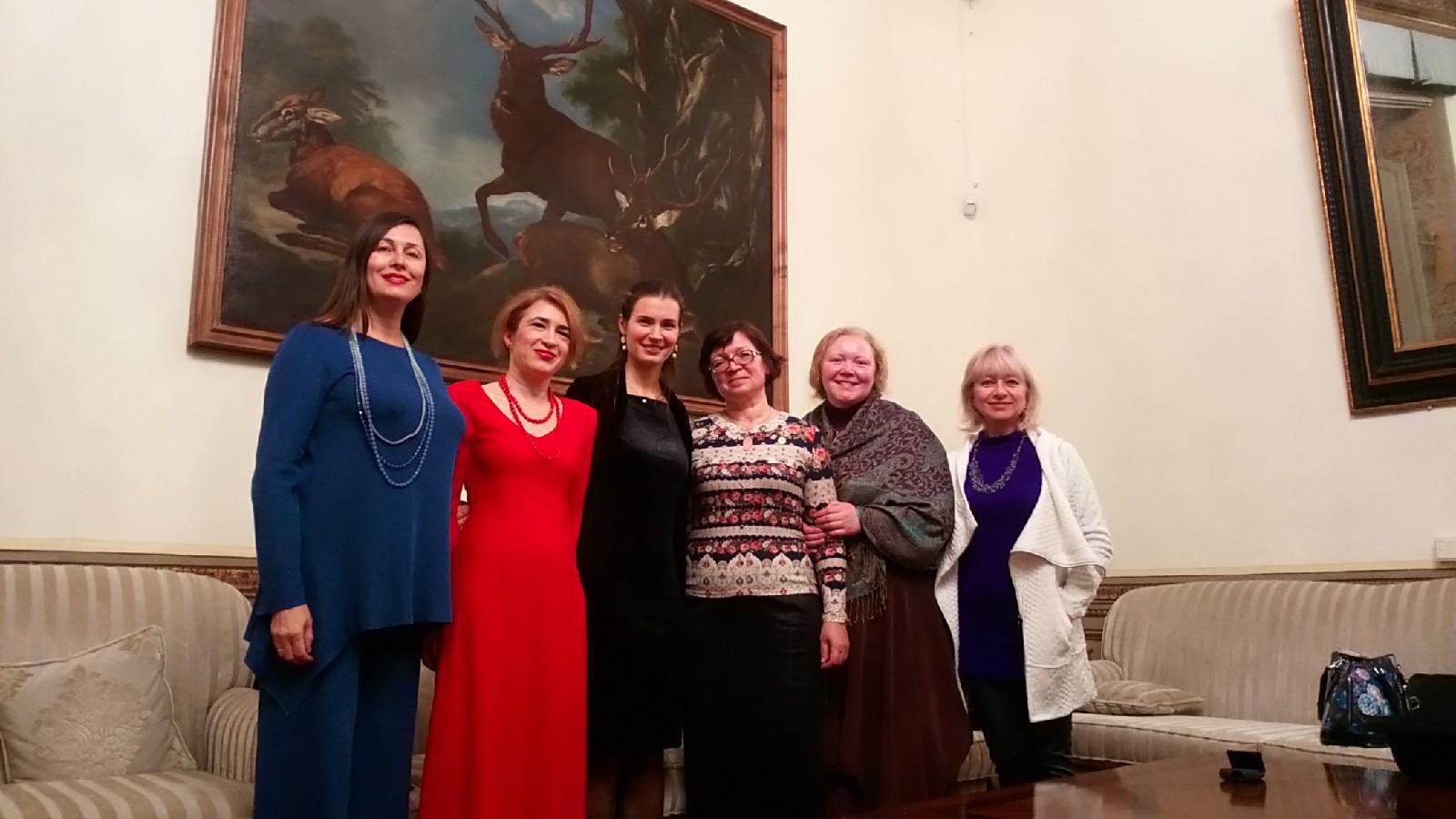 Вечер русской поэзии в РЦНК в Риме